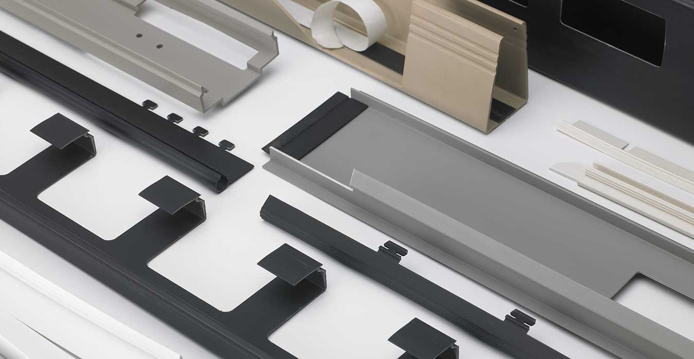 A variety of plastic parts from Wisconsin plastic fabricator
