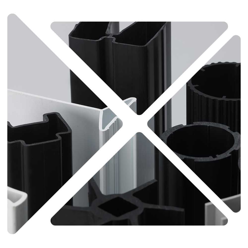 Extruded plastic profiles backed by outstanding customer support